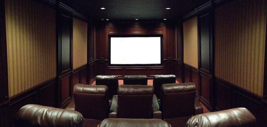 Custom home theater furniture