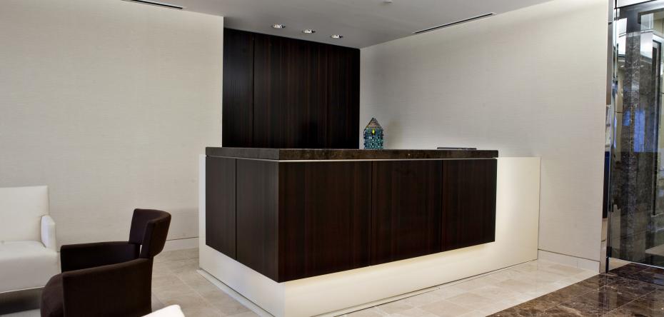 Lobby desk