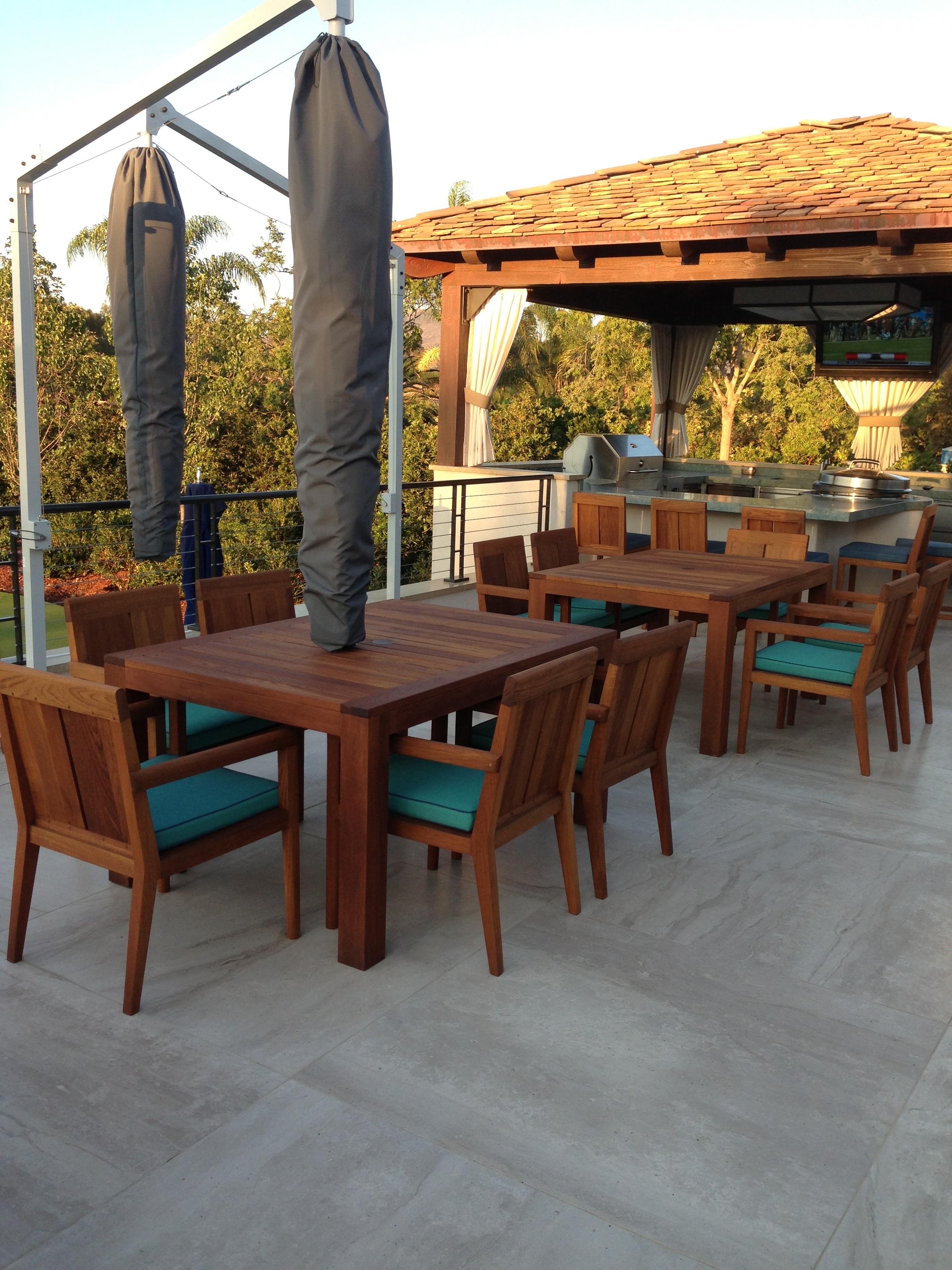Outdoor social furniture